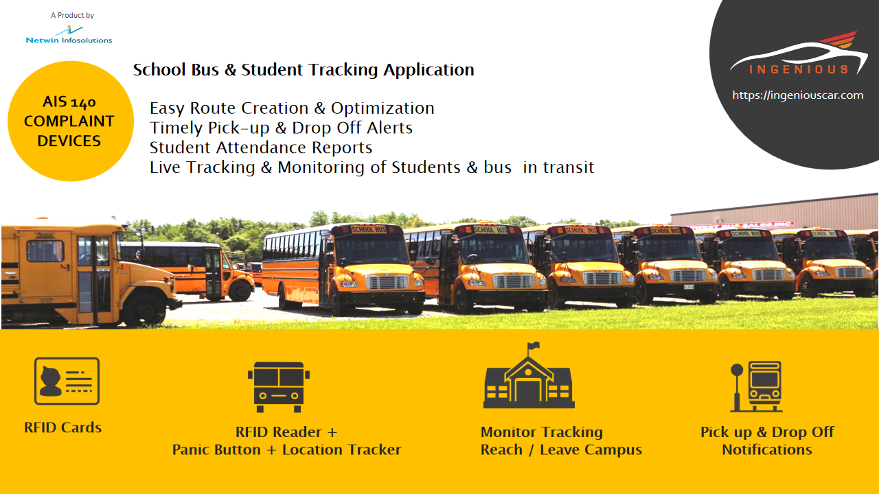 Ingenious School Bus and Student Tracking Platform (ISBT)